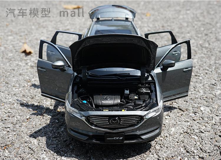 Xe mô hình tĩnh Mazda CX8 tỉ lệ 1:18 - ảnh 11