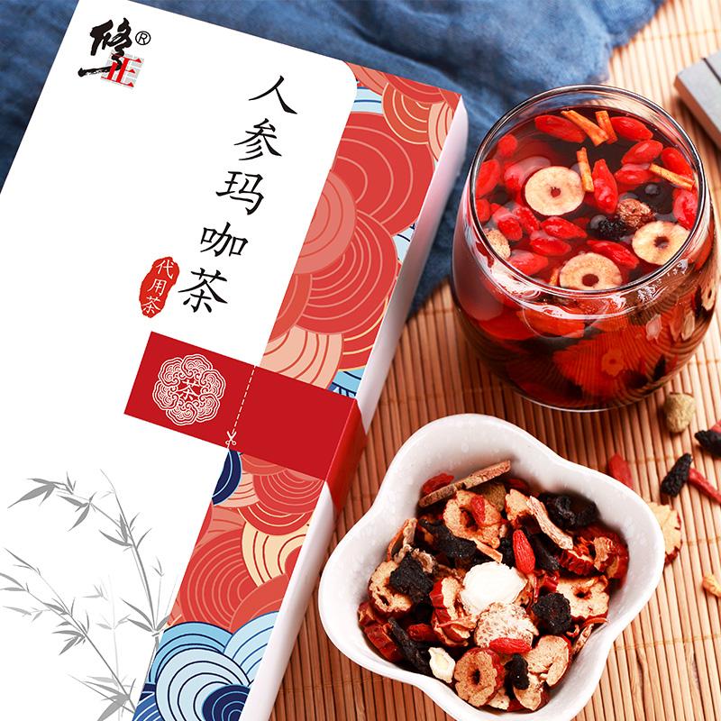 【修正】人参玛卡组合养生茶
