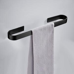 【郎霸】免打孔太空铝毛巾置物架