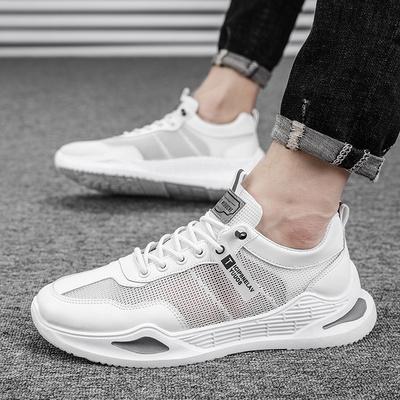 2021年夏季新款网鞋透气男士休闲鞋板鞋男韩版网面小白鞋子潮流鞋