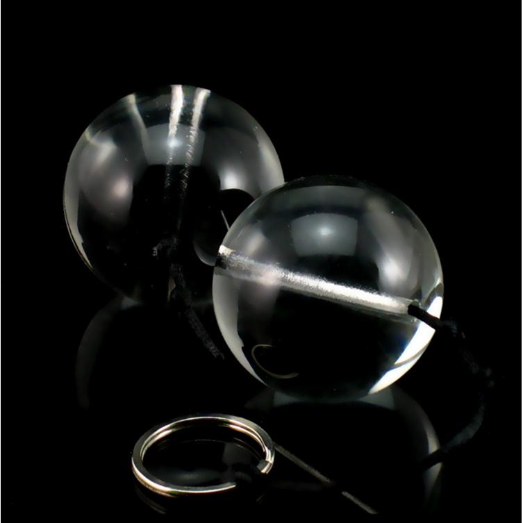 超大cm水晶玻璃拉珠男女用品后庭刺激肛门塞自慰阴道哑铃情趣性
