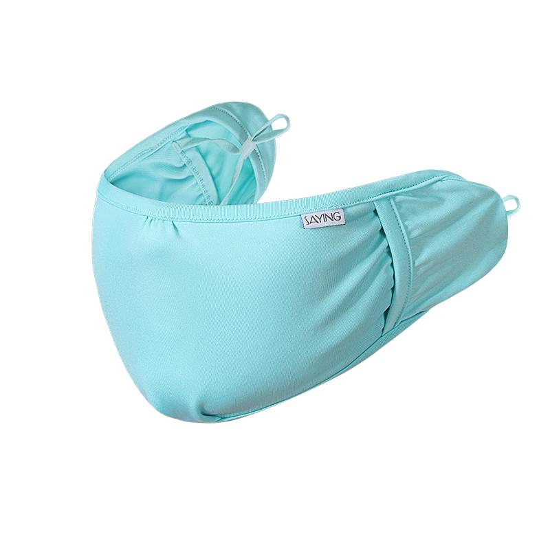非一次性口罩季凉感透气遮阳防晒面罩