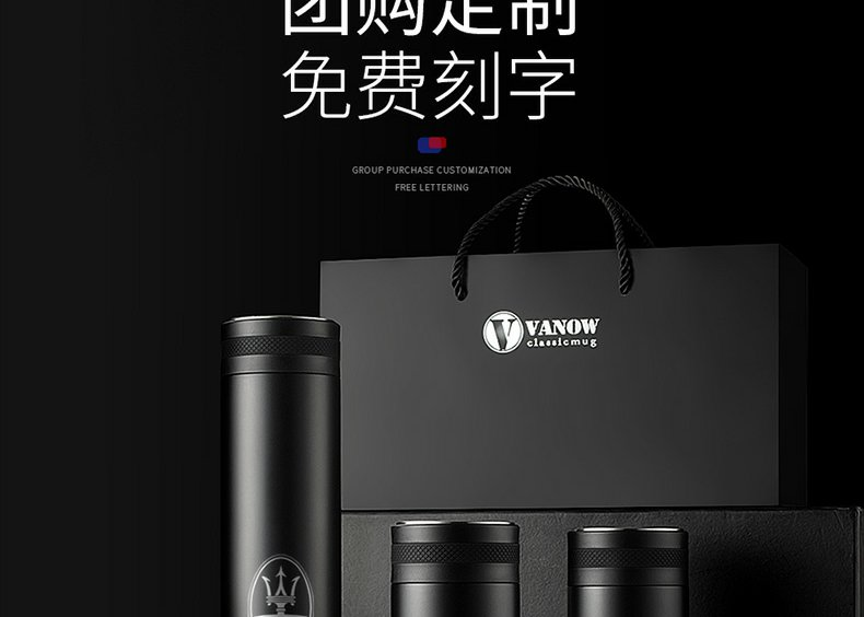 Continuous grain of intelligent separation which enable men and women 316 stainless steel tea tea gift custom lettering water in a cup
