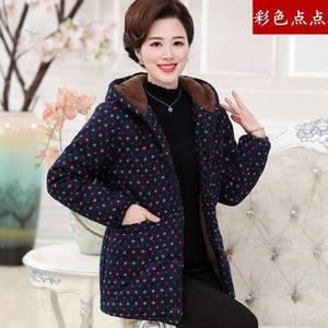 冬季新款中老年冬季棉衣中年大码棉服妈妈装
