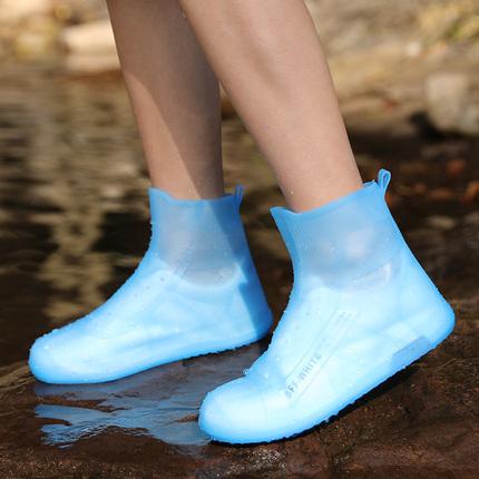雨鞋防水套耐磨防滑加厚下雨鞋子套雨靴套水鞋女男儿童硅胶雨鞋套