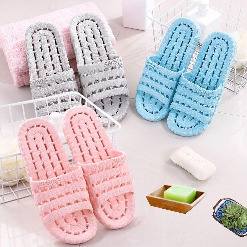 可爱室内家用软底拖鞋浴室洗澡防滑情侣外穿凉拖鞋女夏季男家居鞋