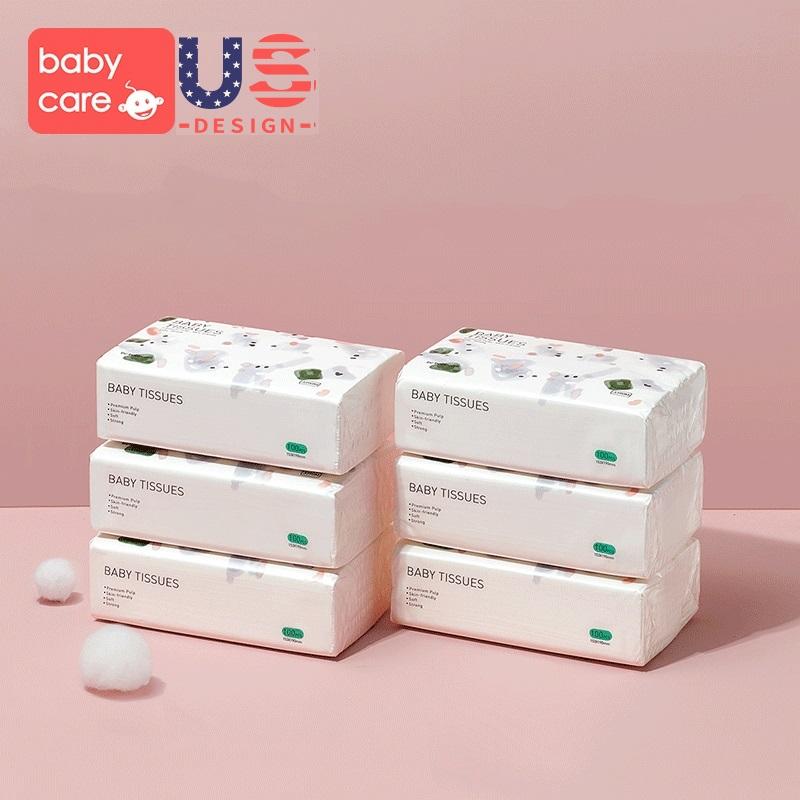 婴儿超柔纸巾100抽*6包