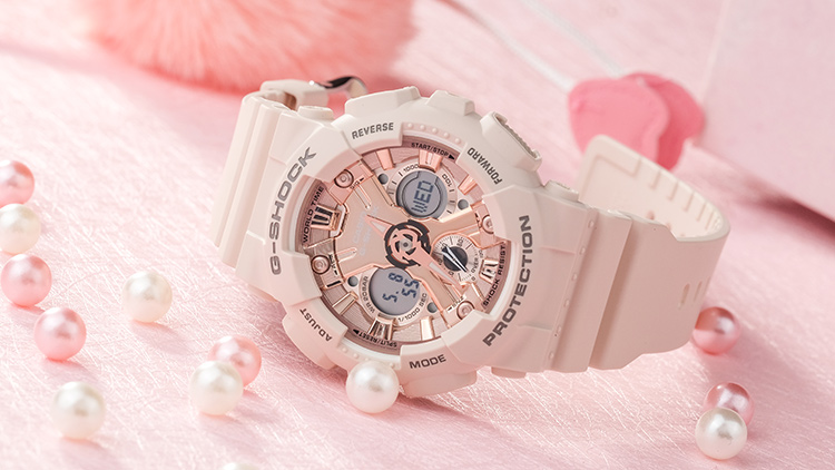 送女朋友心意礼物,用卡西欧运动情侣手表