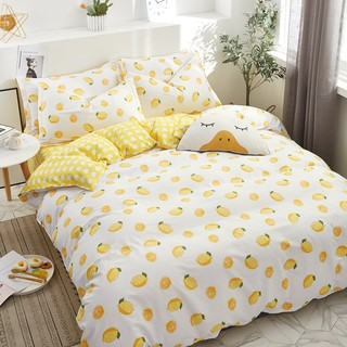A family of four cotton bedding cotton quilt three-piece suite dormitory network models red linen bedding