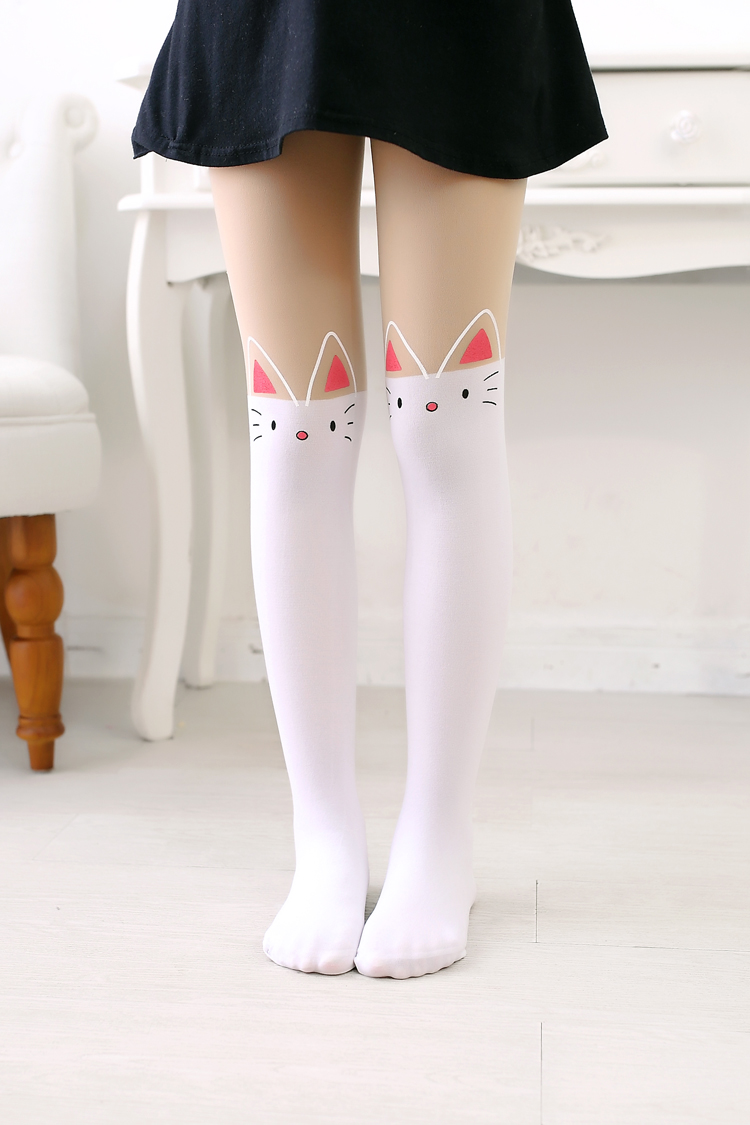 Usd 830 Childrens Tights Girls Stockings Spring And Summer Thin Section Stitching -7851