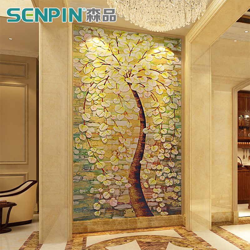 USD 173.79] Corridor aisle vestibule background Wall Tile living ...