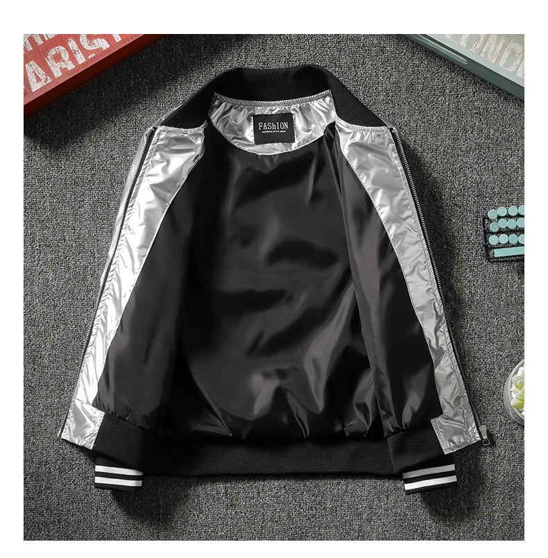 Boys spring and autumn coat 2020 new chinese children's clothing Korean version of baseball shirt boy tide brand bright-faced jacket tide 53