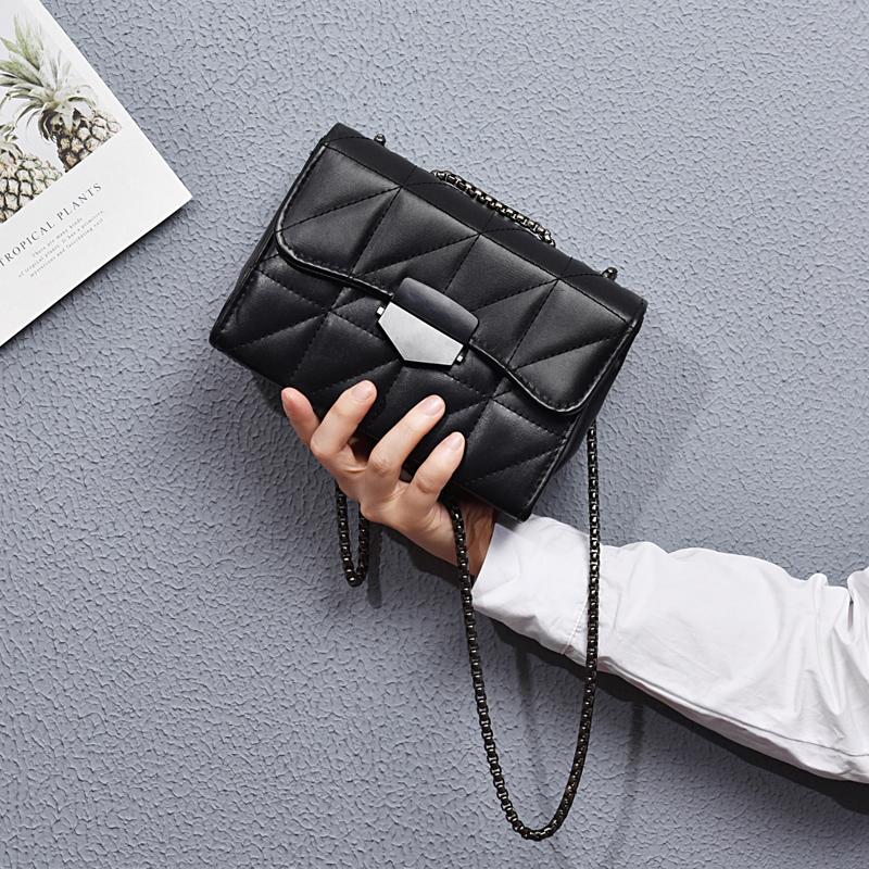 包包女ins小包包女2021新款时尚百搭链条包韩版女学生单件斜挎包