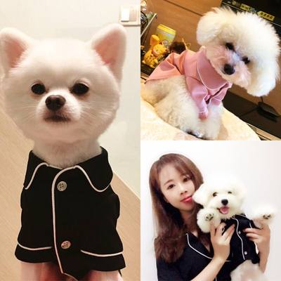 Dog clothes spring and summer pajamas pet Teddy bear Xiong Bomei law fighting Keji puppy small dog cat net red