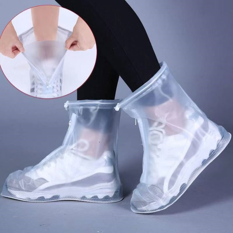 雨鞋套男女户外下雨天旅游便携式水鞋套防滑