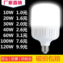 Super bright LED energy-saving bulb home lighting bulb light Gao Fu Shuai energy-saving light bulb E27 big screw