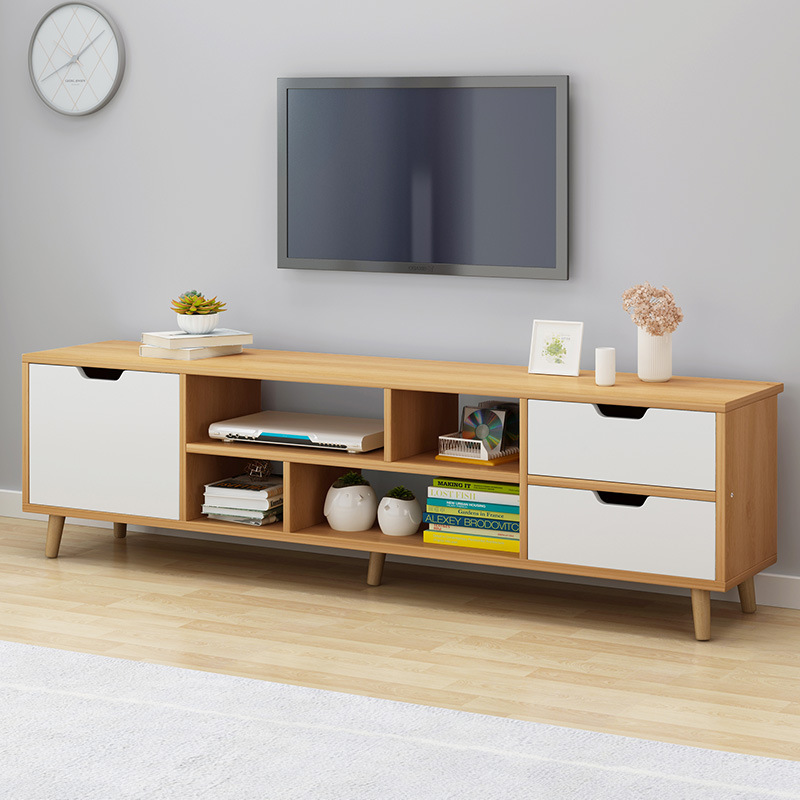 Nordic TV cabinet simple modern living room bedroom simple small family TV cabinet economy rental