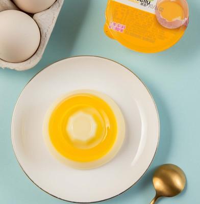 甜蜜1派布丁果冻儿童小零食网红大果冻散装鸡蛋味正品质量6个