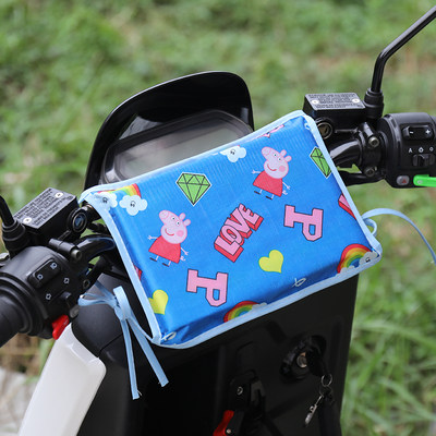 Electric car anti-collision head battery car baby child anti-collision doll baby motorcycle baby front seat anti-collision pad