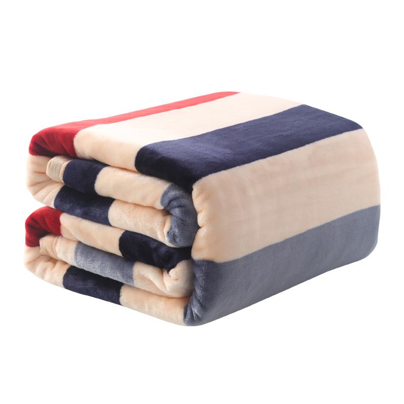 加厚毛毯云貂绒夏季盖毯秋冬保暖毯子卡通珊瑚绒法莱绒学生大床