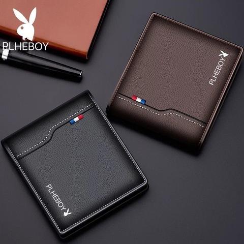 韩版潮流横款公子男士短款钱包wallet钱包男式钱夹卡包