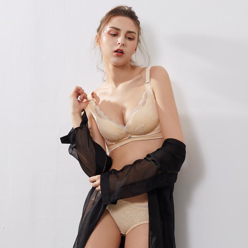 泰国天然乳胶内衣无钢圈防螨胸罩