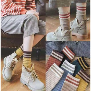 Net red socks children super firest socks women's tide network red parent-child socks mother girl stacks stockings Japanese stacks