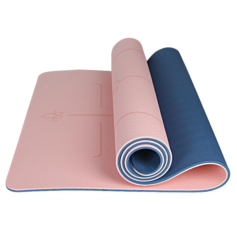 三梵瑜伽垫加厚10mm加宽80cm平板支撑防滑舞蹈垫子跑步机健身地垫