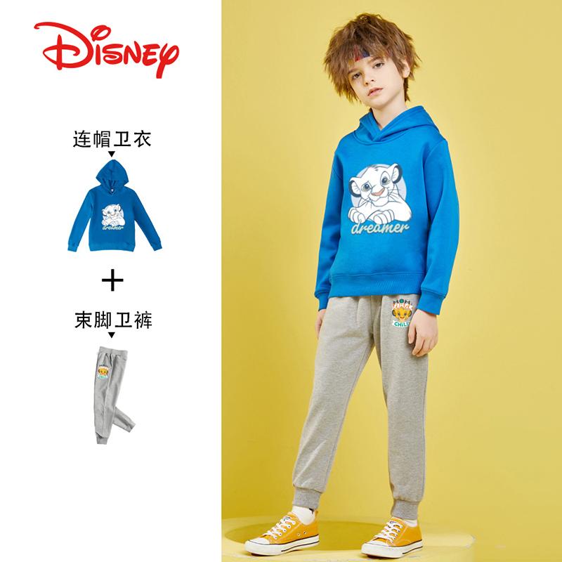 迪士尼 狮子王系列 21年春季款 男童休闲卫衣卫裤两件套 天猫优惠券折后¥79.9包邮(¥99.9-20)110~160码多色可选