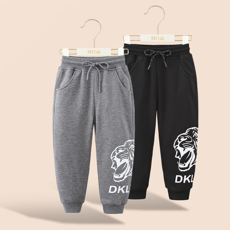 大潘定制【DK儿童】【长裤】中大童云纹v儿童针织童装LT80338033AA1