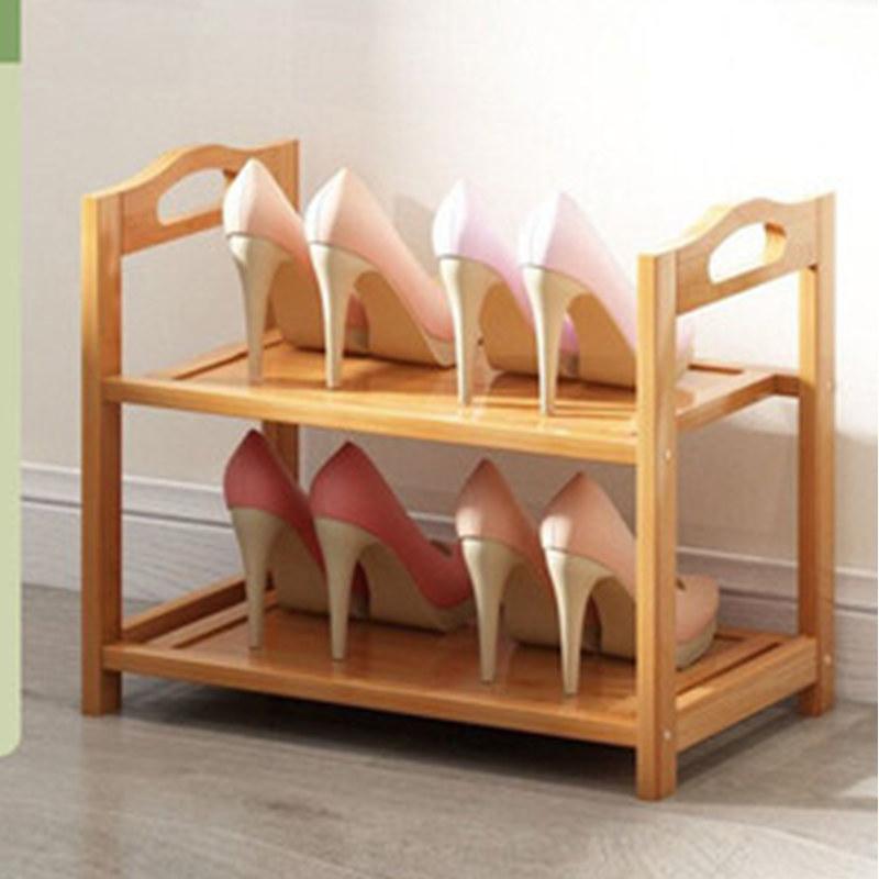 新款鞋架实木鞋柜收纳架多层置物架