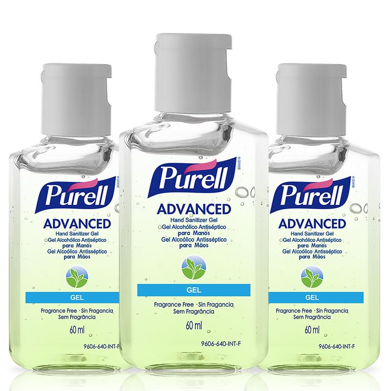 普瑞来Purell免洗洗手液 原装进口净手消毒凝胶 便携装2件套62.0