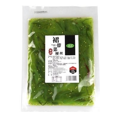 南叶裙带菜丝即食海藻沙拉日料寿司