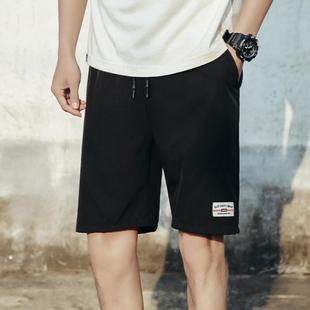 男士休闲裤五分裤韩版运动裤短裤男裤