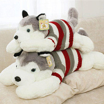 Dorset Sweater Husky Plush Toy Puppy Doll Pillow Grasping Machine Doll Scissors Machine Doll