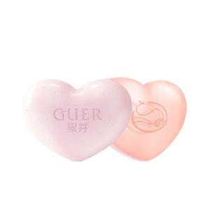 GUER果芽美臀皂pp皂蜜桃皂改善暗沉皂祛角质去黑色素去橘皮