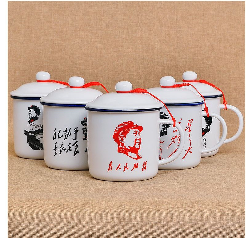 Percussive drill water lovers water tank type magnetic glass ceramic cups custom household tide restoring ancient ways of students