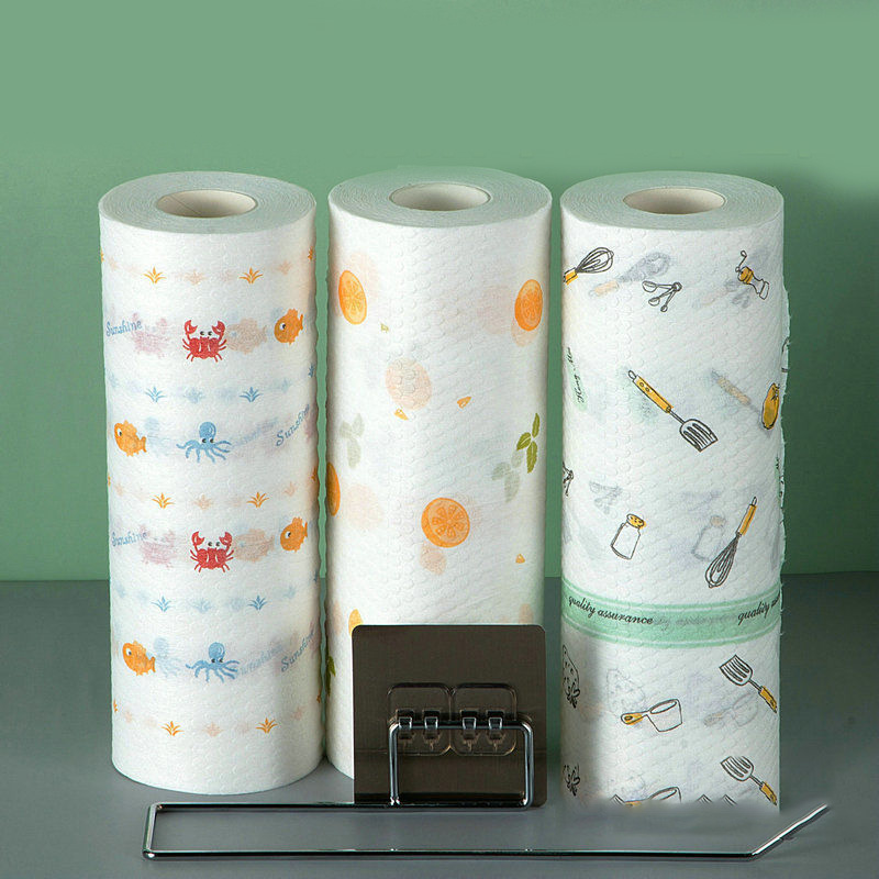 厨房抹布懒人抹布干湿两用一次性吸油纸巾