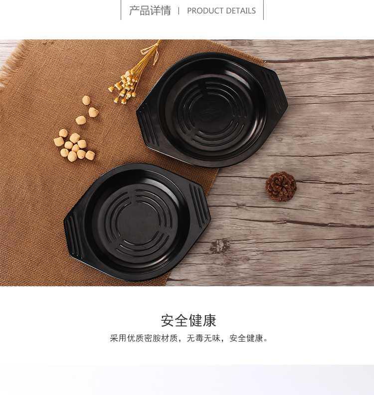 砂锅托盘耐高温商用石锅米线煲仔饭黄焖鸡底座托盘隔热锅垫防烫//
