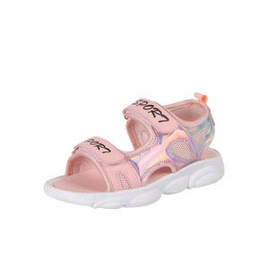 夏季中大童公主鞋沙滩鞋女童鞋