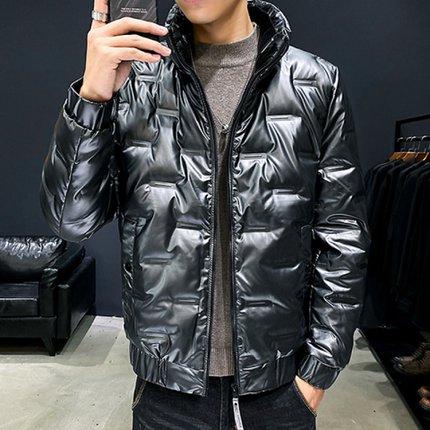 【敢宾旗舰店】冬季保暖修身外套潮流轻薄羽绒服男装