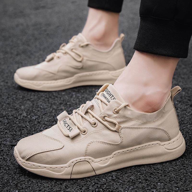 男士春秋季飞织鞋休闲鞋椰子鞋运动鞋男鞋