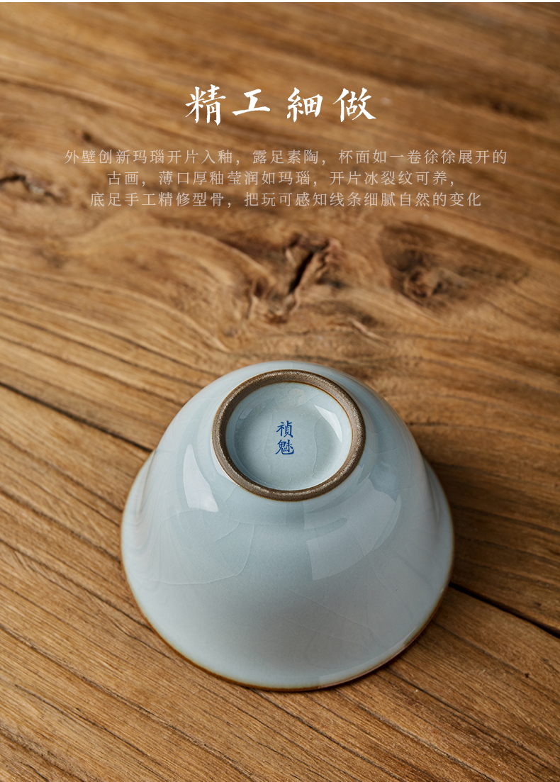 Shot incarnate the jingdezhen ceramic manual your up only three tureen kung fu tea set home tea bowl cover cup, the tablets can be raised