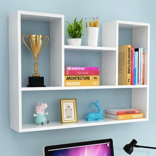 Free Wall shelf perforated wall closet wall hanging storage shelves housing wall