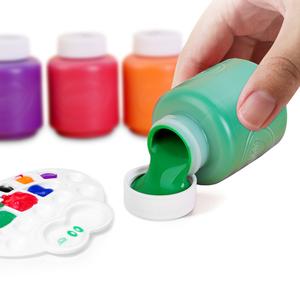 Crayola/绘儿乐儿童绘画颜料可水洗无毒幼儿园涂鸦手指画掌印套装