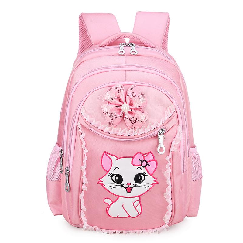韩版小学生书包女1-3-6年级儿童书包女孩书包6-12周岁学生书包女童