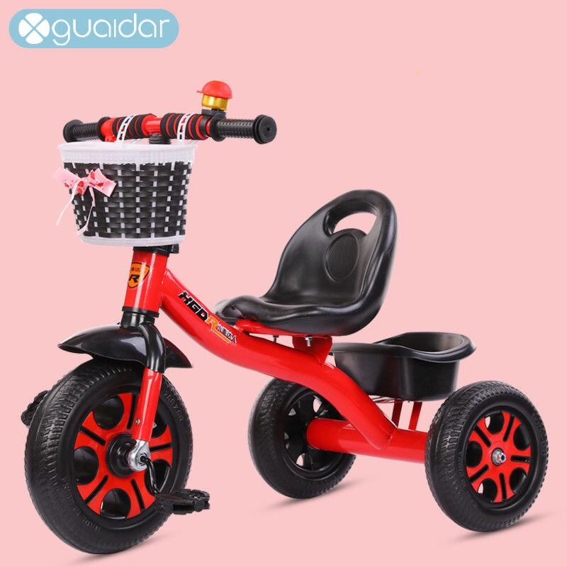 儿童三轮车脚踏车手推车自行车脚蹬车