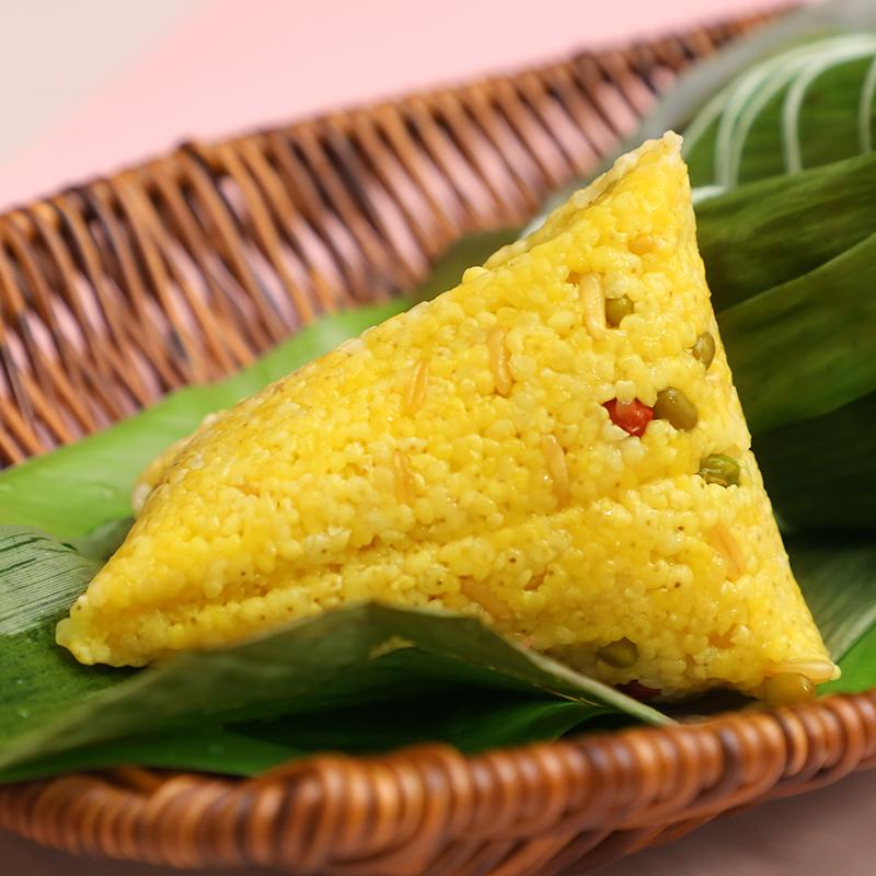 小迈同学端午节大黄米蜜枣粽子新鲜糯米香米甜棕速食早餐送礼团购
