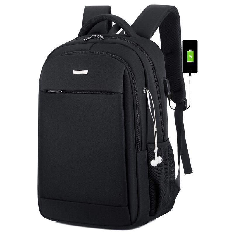 男商务电脑背包双肩包简约韩版
