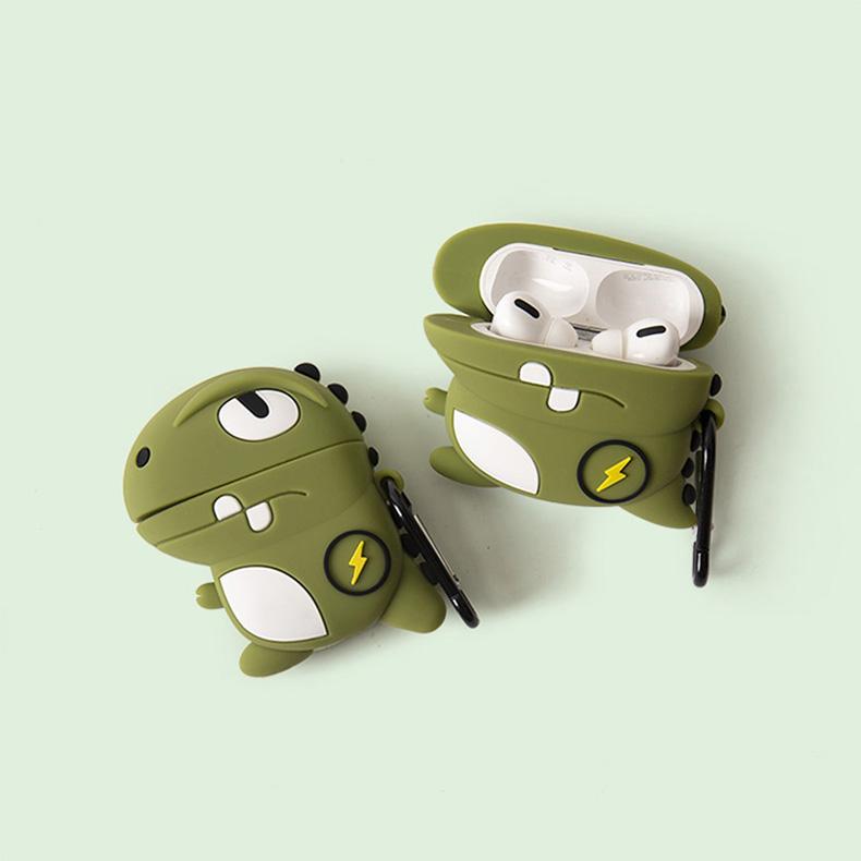 保护套硅胶软壳苹果耳机套壳情侣卡通可爱二代无线蓝牙耳机盒壳套潮牌一代详细照片